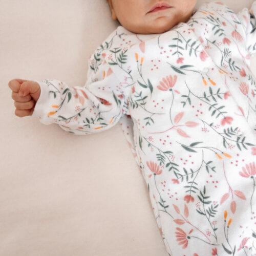 Gwendoline Lefeuvre ⎮ Graphisme & Design textile à Nantes ⎮ Carrément Beau marque de vêtements Enfants imprimé fleuri