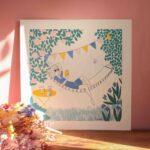 Gwendoline Lefeuvre ⎮ Graphisme & Design textile⎮ illustratrice à Nantes ⎮ Affiche Relax