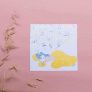 Gwendoline Lefeuvre Illustration & design textile à Nantes ⎮ carte reves