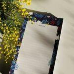 Gwendoline Lefeuvre Ilustration & design textile à Nantes ⎮ Bloc-notes Floral Birds