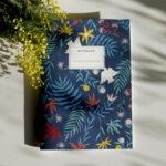 Gwendoline Lefeuvre Ilustration & design textile à Nantes ⎮ Carnet de notes Floral Birds