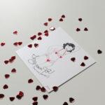 Gwendoline Lefeuvre Ilustration & design textile à Nantes ⎮ Carte Sexy