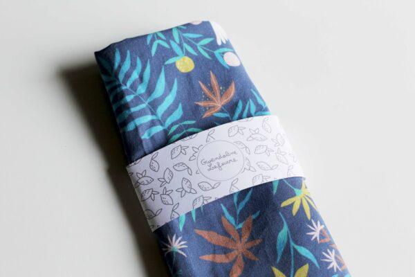 Gwendoline Lefeuvre Ilustration & design textile à Nantes ⎮ Coupon Floral Birds